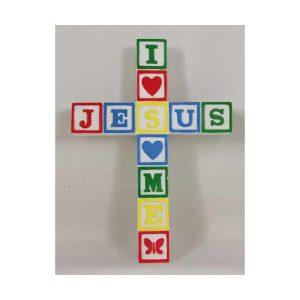 ABC Wall Cross