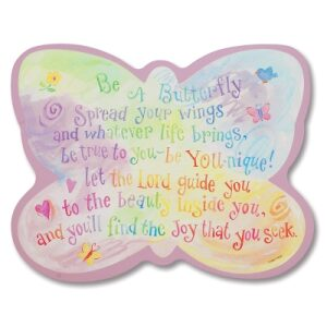 Be A Butterfly – Wall Plaque