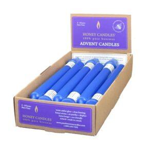 100% Beeswax 9″ Blue