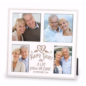 50th Anniversary Collage Picture Frame