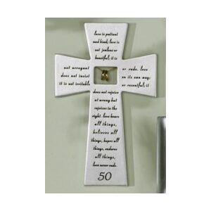 50th Anniversary Wall Cross