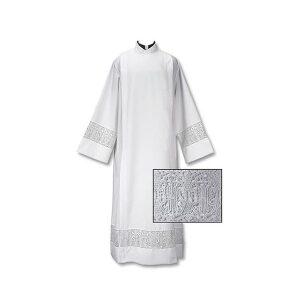 100% Polyester Latin Cross Alb