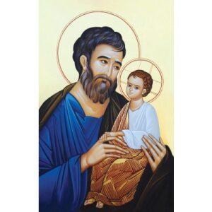 LITANY OF ST. JOSEPH PRAYER CARD