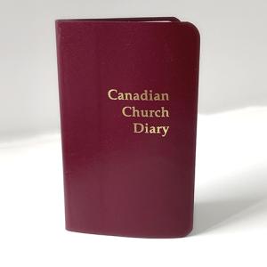 2022 Canadian Church Pocket Diary Red